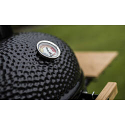 Kamado Chef 1600 Classic Diamond Black (porszórt acél)